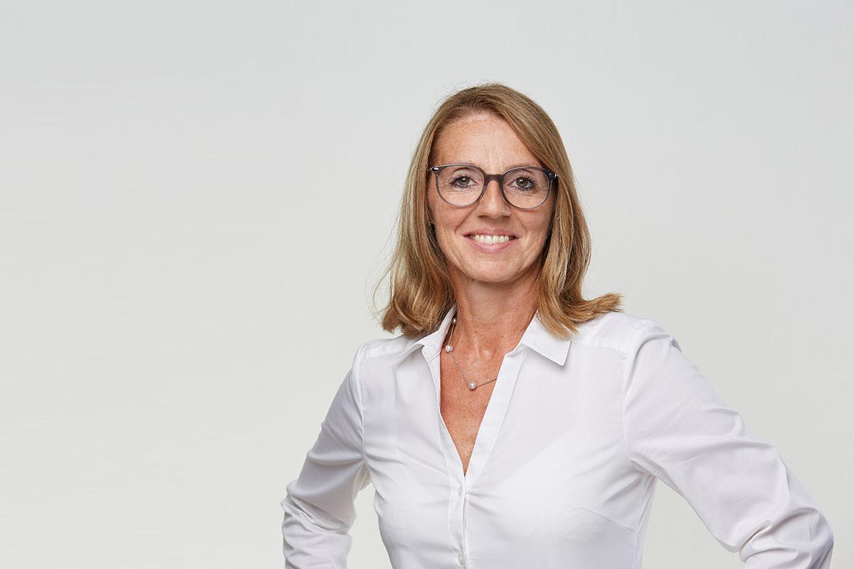Sabine Jonas, Praxismanagerin und Studienassistentin (Foto: Hagen Wolf)